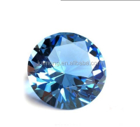 Decoration Gift Blue Crystal Diamond/clear single diamond cut crystal