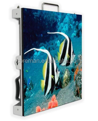 waterproof outdoor picture cases p10 p16 p12 Coreman / rental cabinet p6 indoor fullcolor led display screen