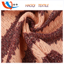 100% polyester wool peach tinsel fabric for arab metallic polyester fabric