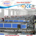 PE PP PVC Wood floor making machine/wood plastic composite production line