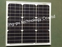 high efficiency and competive price mono solar pv module 40 watt