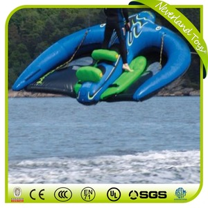 Water ski tube/ inflatables flying manta ray / inflatable water boat