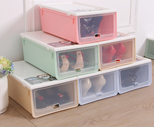 stackable plastic storage box for shoes