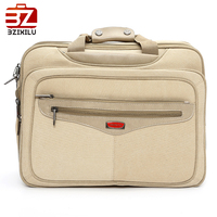 Top quality 17 inch canvas laptop bag of business casual
