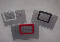 HEYU Metal Aluminum Table Calendar for promotion