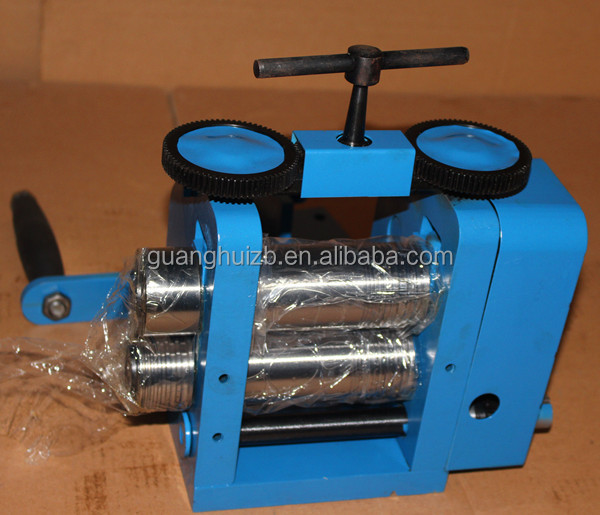manual operation rolling mill jewelry tablet machine