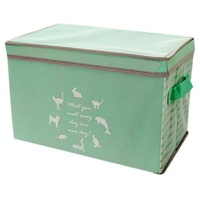 Durable Foldable Rectangular Storage Bin