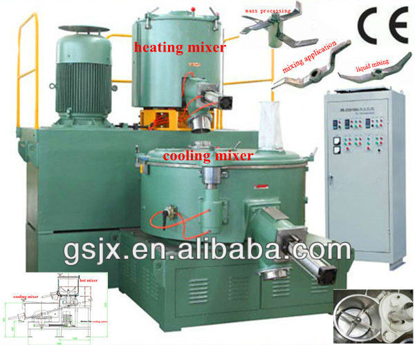 SRL-Z type high speed heating cooling mixer
