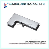 Stainless steel shower hinge , glass clamp for glass door