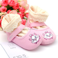 best selling soft infant leather baby shoe
