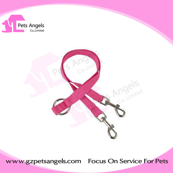 No Tangle adjustable 2 way coupler dog leash lead for two dogs wholesale