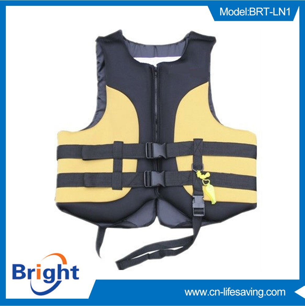 2015 new product colourful neoprene life jackets manufacture hot sale