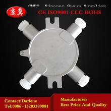 Stainless steel explosion proof junction box