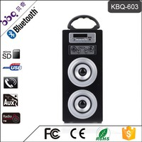 BBQ KBQ-603 1200mAh Hot 3 inch 10W Driver Multimedia Speaker with Bluetooth