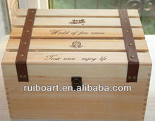 wooden wine crates for sale