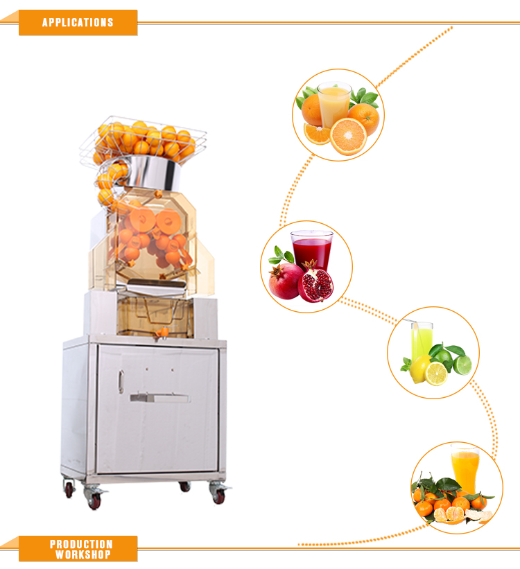 Industrial Juicer Extractor Machine,Ce Certification And Stainless Steel Blade Material Juicer XC-2000E-2