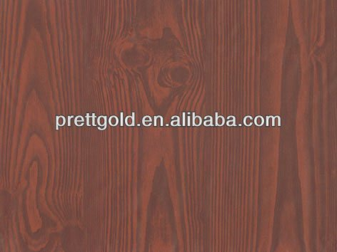 wood texture furniture surface protection film W3503