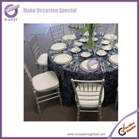 17917 Simple Design Banquet Metal Stainless Price Steel Chiavari Dining Chair