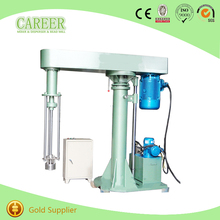 batch production double shaft high speed paint disperser
