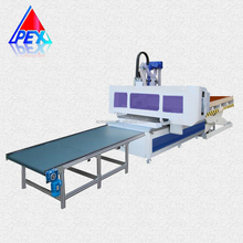 Automatic loading and unloading nesting cnc router nesting machinery for cabinet door making
