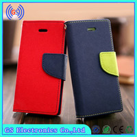 Goospery wallet card slot holder flip leather tpu soft case for samsung galaxy grand duos i9082