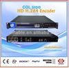 iptv solution iptv encoder h.264 4 in 1,tv and radio station for sale in China COL5100