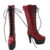 18 inch Fashion Red Knee Boots for American Dolls