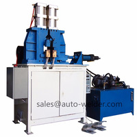 Automatic Hydraulic Air Duct Pipe Joint Butt Welding Machine