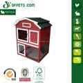 Special Roof Wooden Bunny Rabbit Hutch