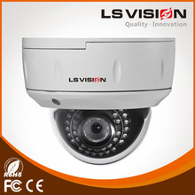 LS VISION low cost 2mp Auto Focus and Zoom lens P2P IP Waterproof POE CCTV Doem IP camera
