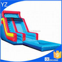 Inflatable 16' Backyard Wet & Dry Slide with Pool