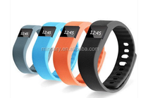 Hot product for 2015 bracelet TW64 sports wristband cheap smart watch bluetooth phone