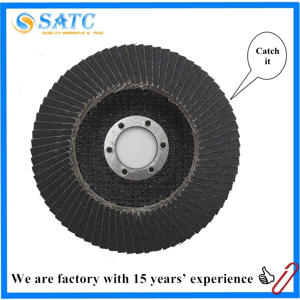 silicon flap disc abrasive for metal