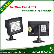 V-checker A301 Trip Computer Obd Diagnostic Tools Motorcycle European Car Scanner Supports a Variety of Vehicle Models