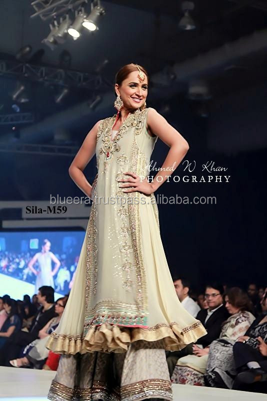 sleeveless Embroidered frock with lenga bridal dress BE-M59