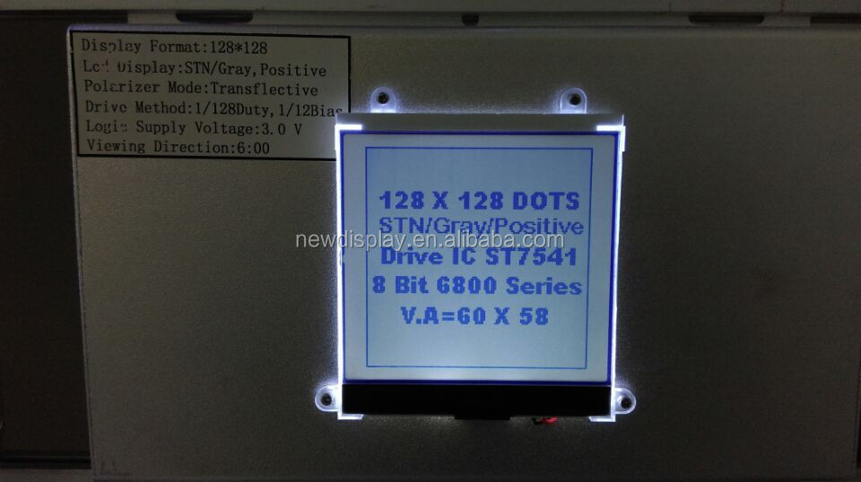 128x128 character LCD display /COG LCD panel