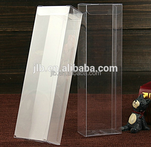 Transparent PVC Box Clear Favor Gift Display Box Cosmetic Jewelry Plastic Box Packaging For Pen