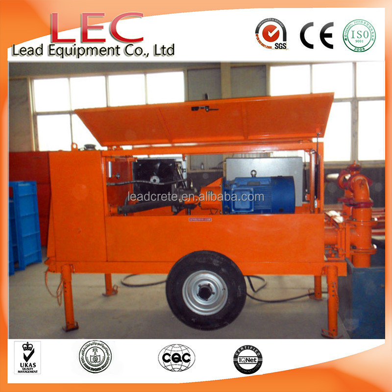 output from16~20 m3/h pumping foam concrete machine for building roof