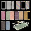 For iPhone 4 4s 5 5s 6 6s 6Plus Phone Sticker Hot Selling Full Body Glitter Bling Phone Sticker Screen Protector Phone Case