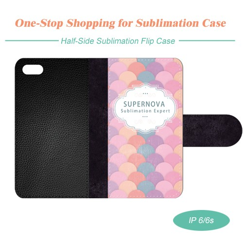 Sublimation Leather Phone Case for iPhone 6/6S with Full Size Printing