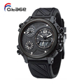Trade international wrist watch brands full black watches for men