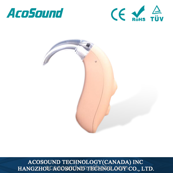 China Alibaba AcoSound Acomate 420 BTE CE TUV ISO Proved Cheap programming digital hearing aid business opportunity