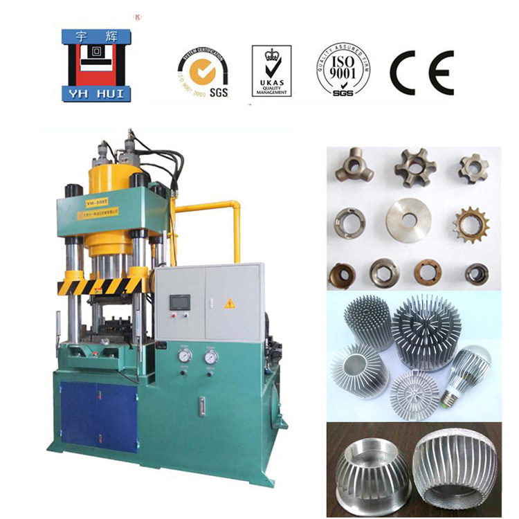 extrusion forming hydraulic press 800 ton YHA3 Cold-forging machine for LED heatsink