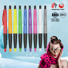 2016 plastic ballpoint pen manufacturer in china