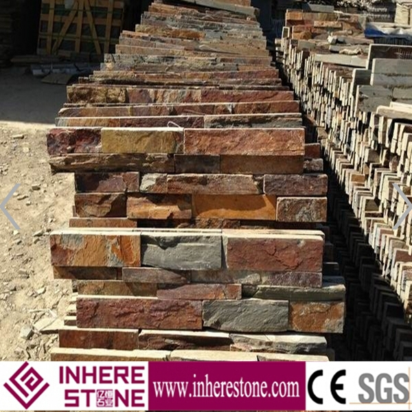 china cheap rusty slate cultural stone for slate tile
