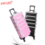 Yaeshii 4 in 1 Pink Luxury Packing Box Cosmetic Travel Case