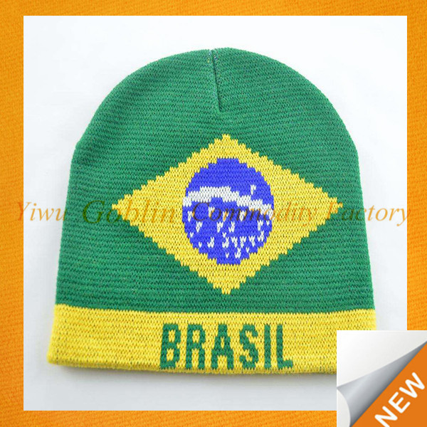 GBEY-203 2014 brazil World Cup brazil Sports fans hat funny fans tall hat flag hat wholesale