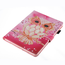 C504 New Promotion Good Quality Back Stand Tpu PU Leather 2 In 1 Cover For Ipad 4 Case