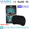 i8 2.4G touch pad qwerty keyboard fly air mouse remote control