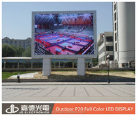 Competitive Price P20 Outdoor lcd modules Led Display/screen/Billboard